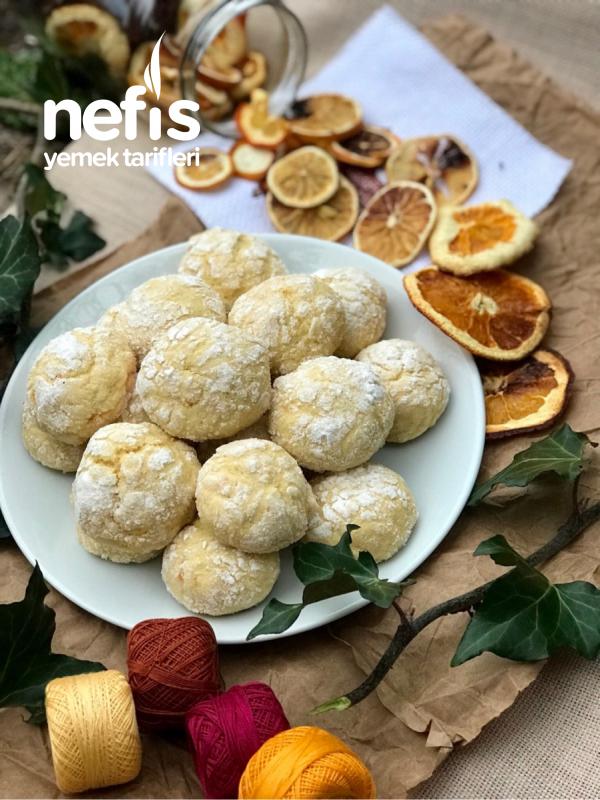 Portakallı Kek Kurabiye(bayılacaksınız)