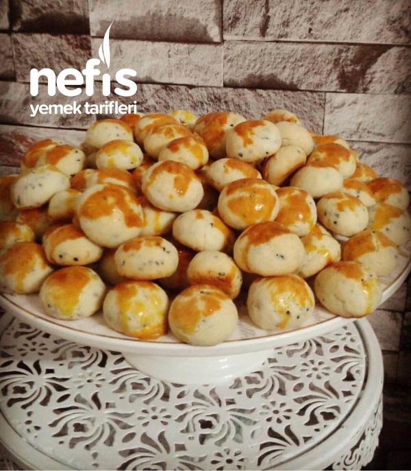 Teremyağlı Çörek Otlu Kurabiye (nefisssss)
