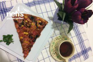 Teremyağlı Lezzeti Nefis Pizza Tarifi