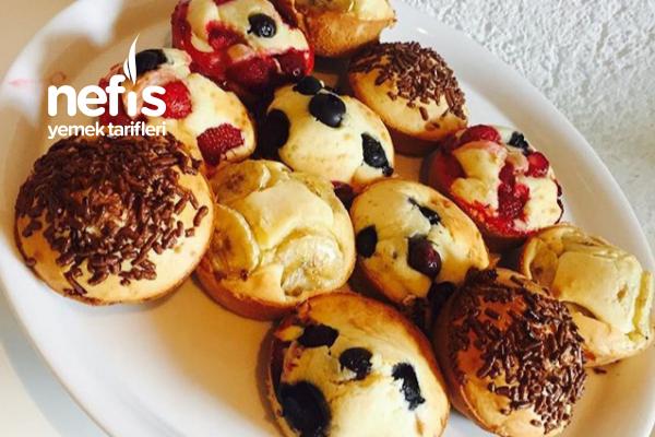 Teremyağlı Meyveli Muffinler Tarifi