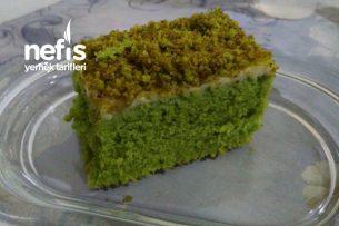 Teremyağlı Yeşilli Pasta Tarifi