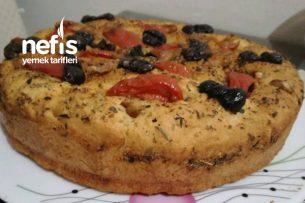 Focaccia Ekmeğim (İtalyan Ekmeği) Tarifi
