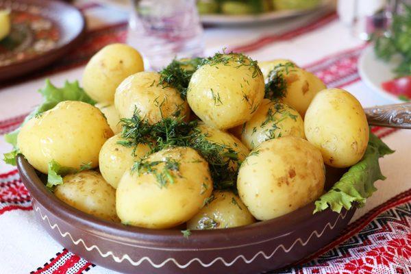 haşlanmış patates