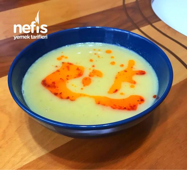 Mercimek Çorbası (teremyağı soslu)