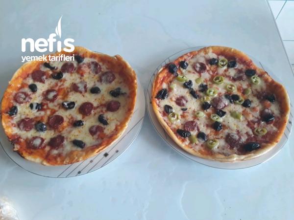 Tavada Nefis Pizza (çok Pratik)