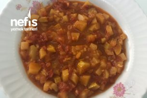 Nefis Zeytinyağlı Kabak Yemeği Tarifi