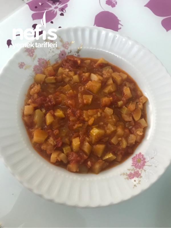 Nefis Zeytinyağlı Kabak Yemeği