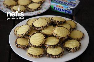 Teremyağlı Çikolatalı Fındıklı Kurabiye Tarifi