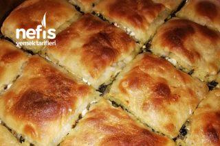 Teremyağlı El Açması Ispanaklı Börek (Mis Gibi) Tarifi
