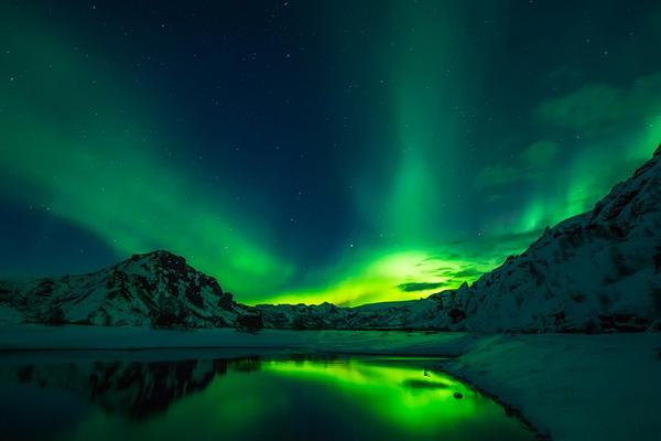 izlanda kuzey ışıkları