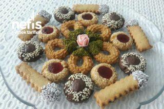 Çikolatalı Bisküvi Tadında Süslü İkramlar Tarifi