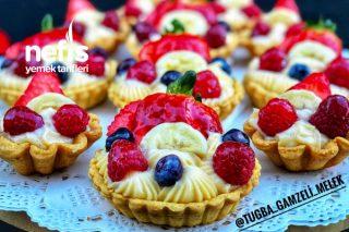 Teremyağlı Pastane Usulu Orjinal Tartolet Tarifi