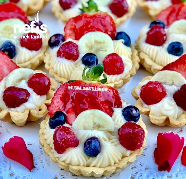 Teremyağlı Pastane Usulu Orjinal Tartolet