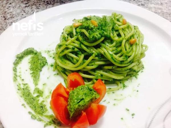 Teremyagli Pesto Soslu Makarna