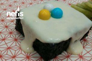 Çikolata Şelalesi Islak Pasta Tarifi