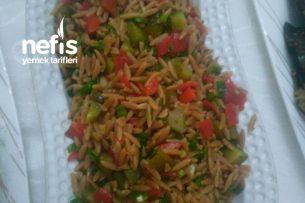 Kavrulmuş Şehriye Salatası Tarifi