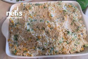 Salatalıklı Kuskus Salatası Tarifi