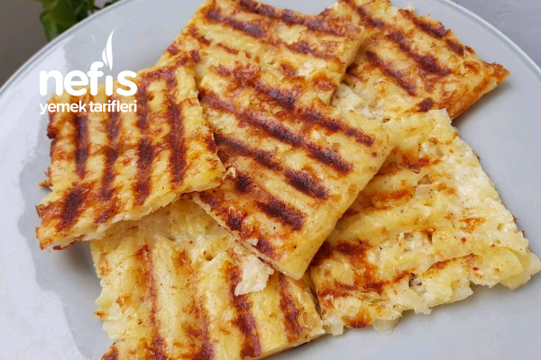 Kahvaltıya Patates Tostu