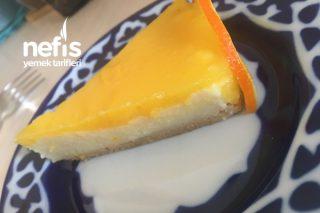 Portakallı İrmik Tatlısı ( Yalancı Cheesecake) Tarifi