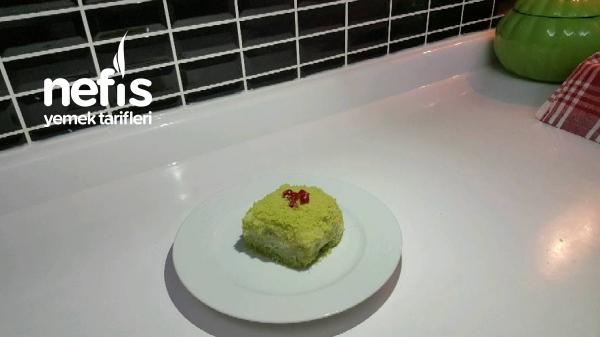 Doğal Renkli Yaş Pasta