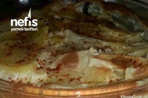 Fırında Sütlü Tereyağlı Patates Tarifi