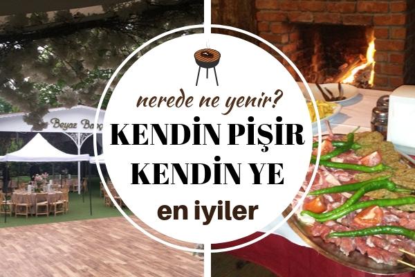 İstanbul Kendin Pişir Kendin Ye Mekanları