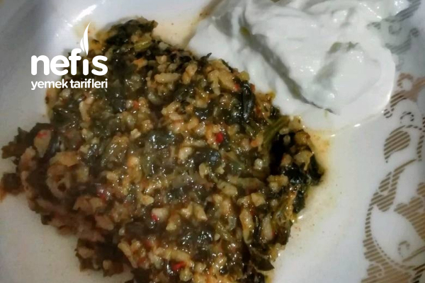 Leziz Ispanak Yemeği Tarifi