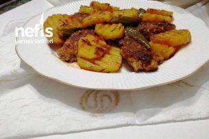 Patatesli, Köfteli Yemeğim (fırınsız) Tarifi