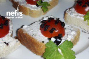 Peynirli Kanepeler Tarifi
