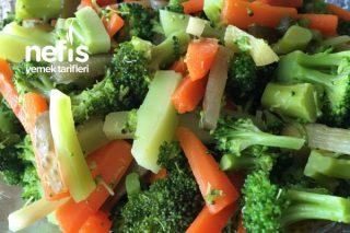 Sağlıklı Nefis Brokoli Salatası Tarifi