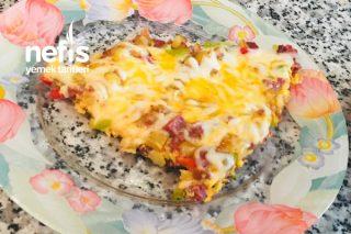 Teremyağlı Patatesli Pizzamız Tarifi