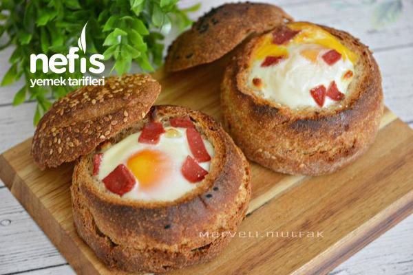 Yumurtalı Ekmek (Nefis Kahvaltılık) Tarifi