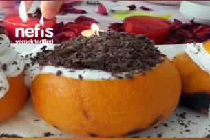 Portakal Kabuğunda Kek Tarifi