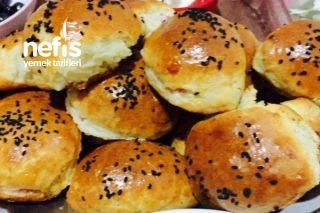 Salamlı Peynirli Poğaça Tarifi