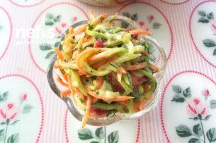 Serin Sebze Salatası Tarifi