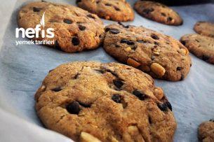 Teremyağlı Amerikan Kurabiyesi (Cookies) Tarifi