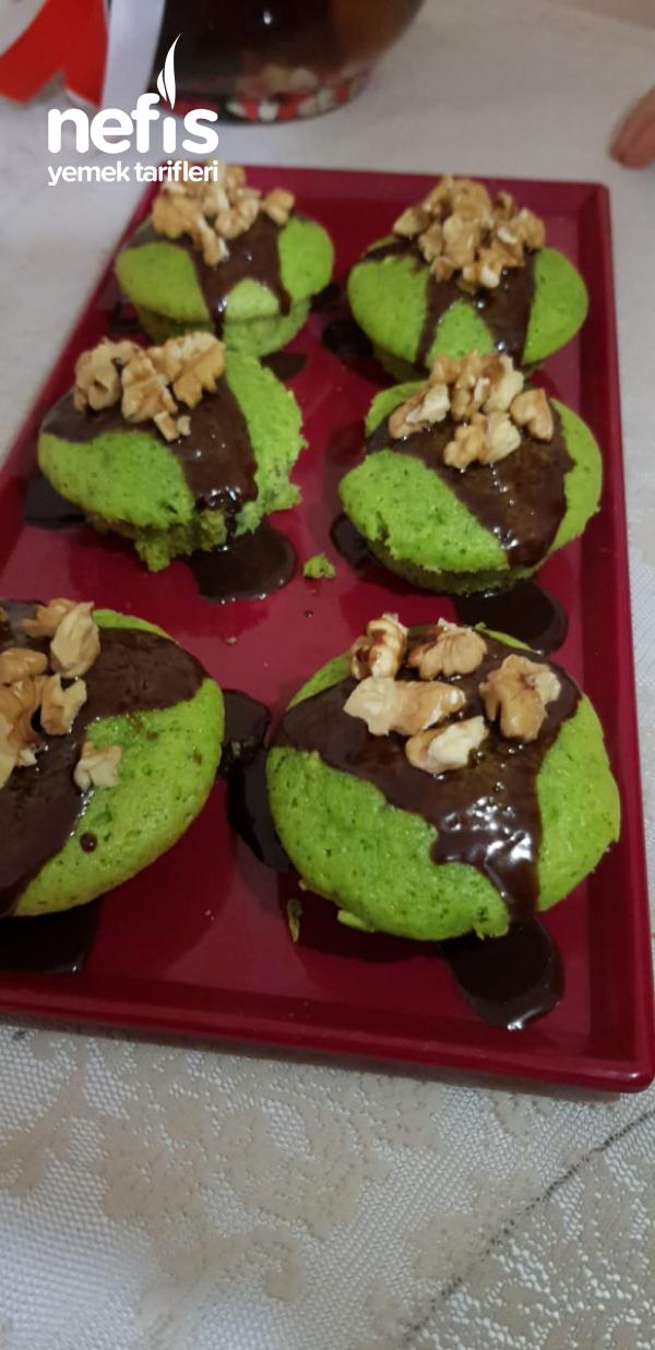 Teremyağlı Ispanaklı Minik Kekler