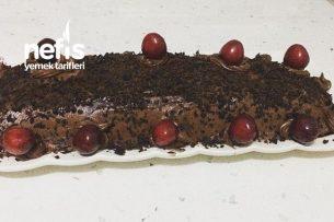 Teremyağlı Kakaolu Rulo Yaş Pasta Tarifi