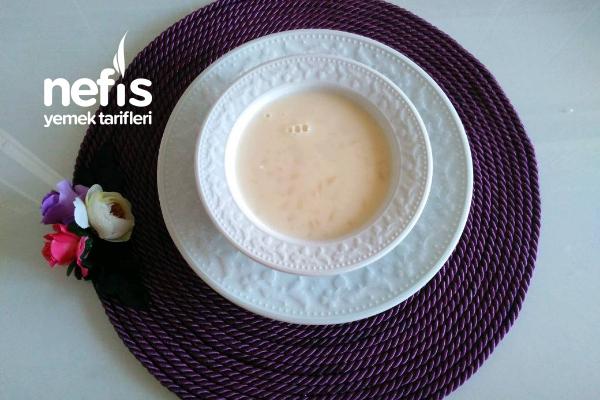 Teremyağlı Şehriyeli Yoğurt Çorbası Tarifi