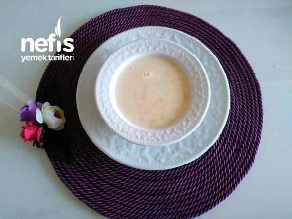 Teremyağlı Şehriyeli Yoğurt Çorbası