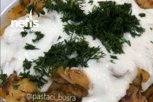 Domatesli Yoğurtlu Kabak Salatası Tarifi