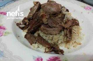 Kaz Etli Muhteşem Pirinç Ve Bulgur Pilavı Tarifi