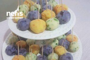 Renkli Patates Topları Tarifi