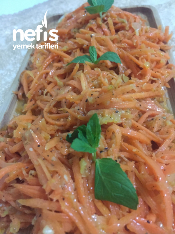Çimça (kore Havuç Salatası)
