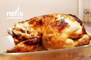 Fırın Torbasında Kızarmış Tüm Tavuk Tarifi