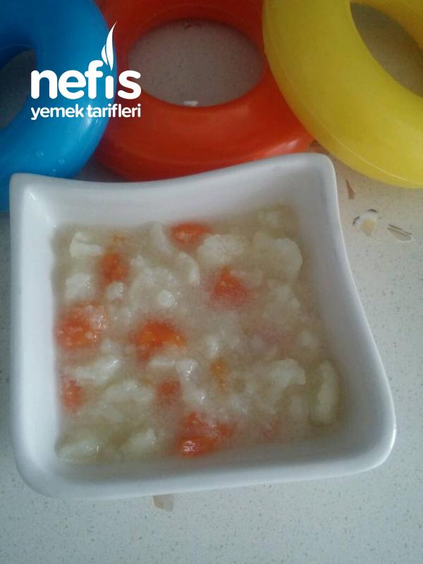 Melegime Irmikli Karnibahar Çorbası (7+)
