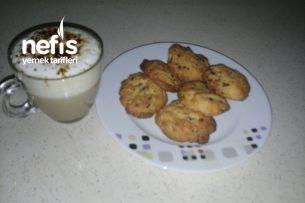 Teremyağlı Kahveli Cookies Kurabiye Tarifi