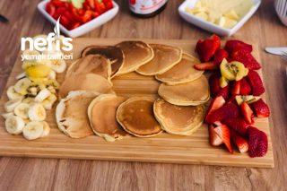 Pancake 5 Dakikada Hazır Tarifi