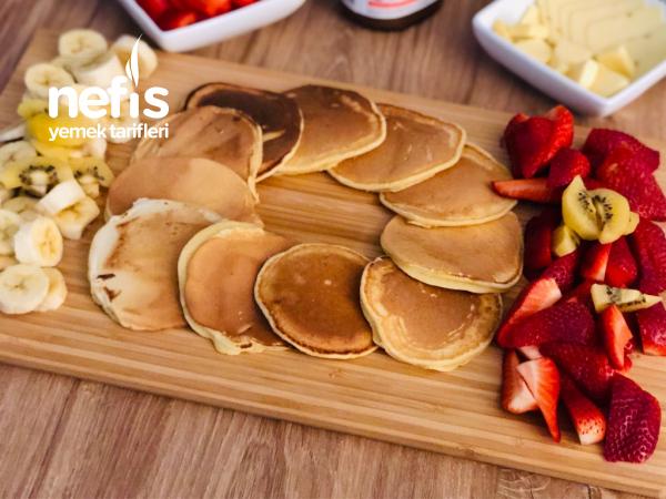 Pancake 5 Dakika Da Hazır