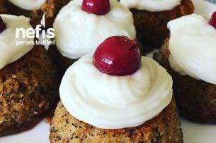 Teremyağlı Porsiyonluk Haşhaşlı Kıbrıs Tatlısı Tarifi